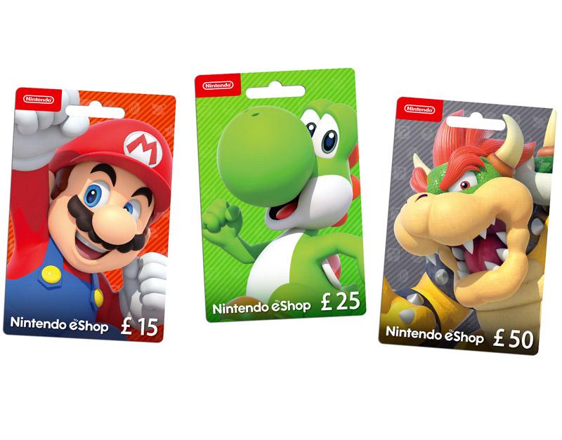 Nintendo eShop Gift Card, Got Nothing To Play, gotnothingtoplay.com