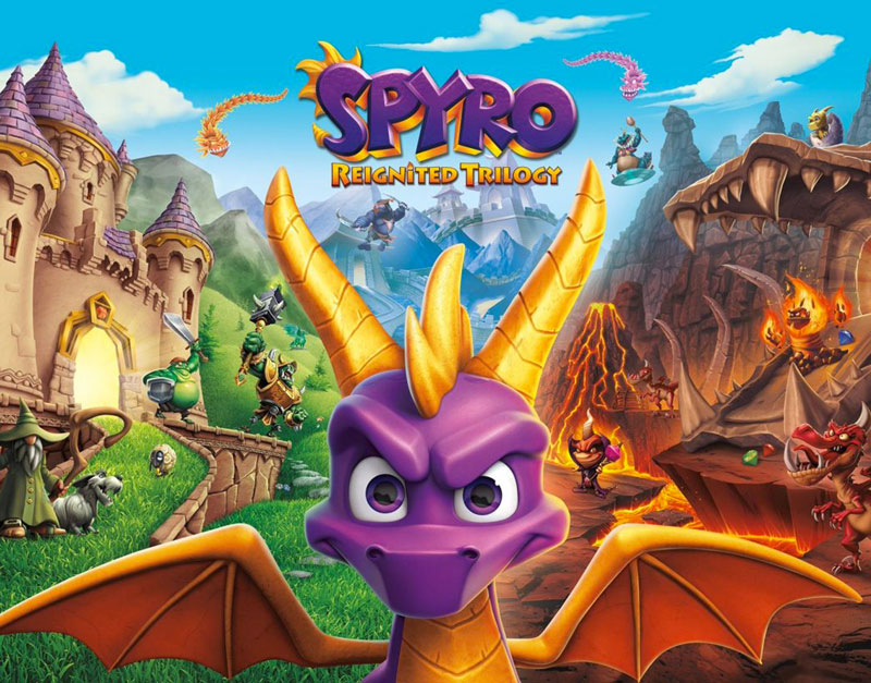 Spyro Reignited Trilogy (Xbox One), Got Nothing To Play, gotnothingtoplay.com